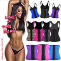 perder peso fajas fajas reductoras body mujer Riñonera body feminino látex waist trainer corset bodysuit women hot shaper