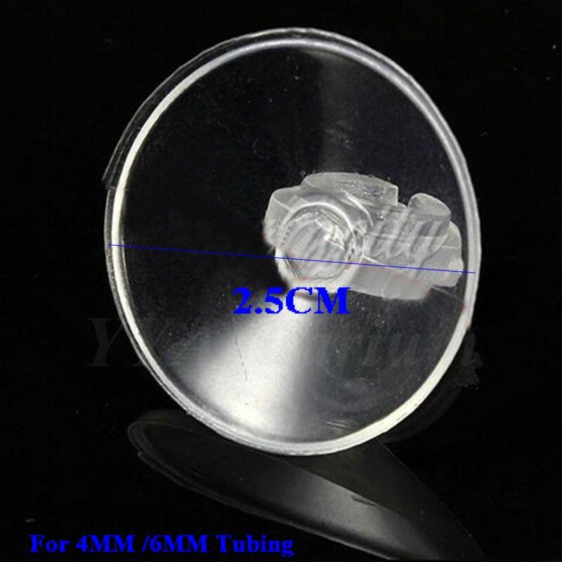 10 TEILE/LOS AQUARIUM PVC SAUGNAPF HALTER AQUARIUM SAUGER FÜR ROHR SCHLAUCH  CO2 AIR LINIE ROHR PUMPE 2,5X2,5 CM In 10 TEILE/LOS AQUARIUM PVC SAUGNAPF  HALTER ...
