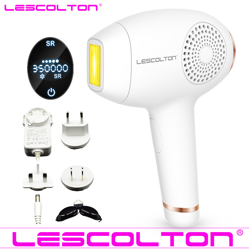 Image 2 - Lescolton newest 2in1 IPL Laser Hair Removal Device Permanent Hair Removal IPL laser Epilator Armpit Hair Removal machine-in Epilators from Home Appliances