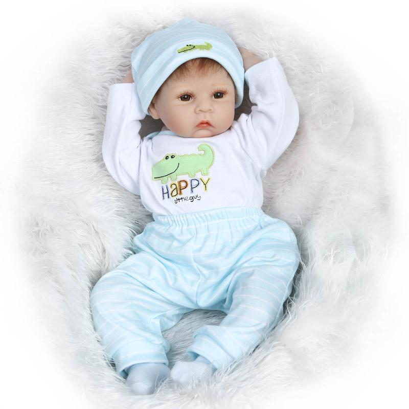 NPK COLLECTION DOLL 55cm Silicone Reborn Baby Dolls Toy Soft Body Newborn Boy Babies For Girls Play House Toy Kid Birthday Gift limited collection soft silicone reborn baby dolls toy lifelike newborn girls babies play house toy child kids birthday gifts