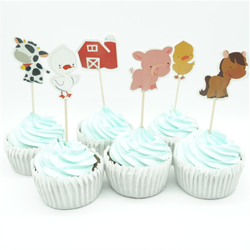 12 FENCE PANEL CAKE CUPCAKE CRAFTS PARTY FAVOR DECORATION KIT TOPPER ADDITION