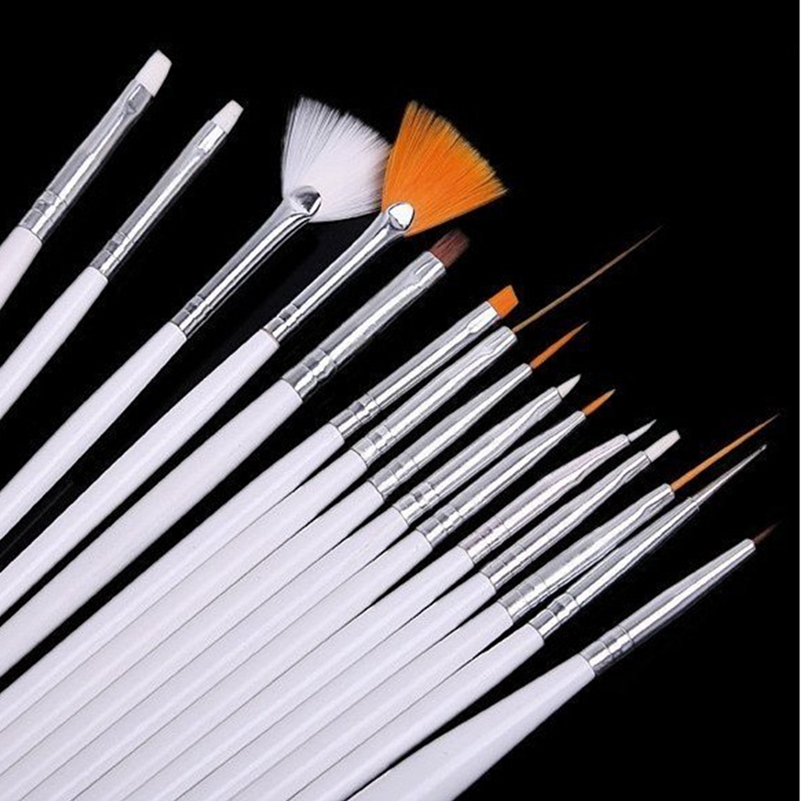Make Up Brushes 15 Pcs Makeup Tools DIY For 1/4 17