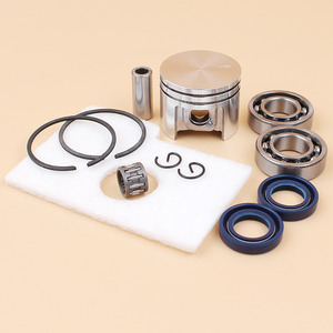 Motor Piston Crankshaft Oil Seal Bearing Air Filter Kit For Stihl MS180 MS 180 018 Chainsaw Spare Parts 38mm(China)