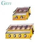 GZZT барбекю гриль LPG газ 2/4 горелки желтый стеклянный экран Регулируемый барбекю Portatif барбекю гриль для наружного предпочтения