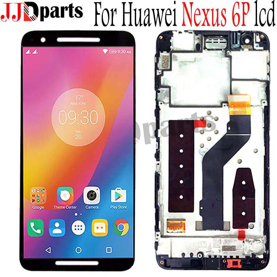 Huawei Nexus 6P LCD Display Touch Screen Digitizer Assembly Nexus 6P LCD With Frame Replacement For 5.7 Huawei Nexus 6p displayHuawei Nexus 6P LCD Display Touch Screen Digitizer Assembly Nexus 6P LCD With Frame Replacement For 5.7 Huawei Nexus 6p display