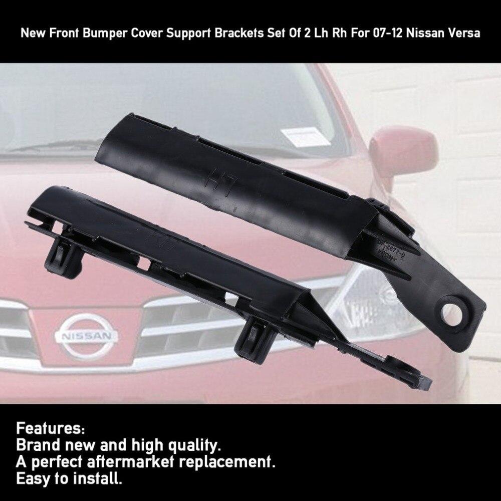 Steel For Versa 07-12 Front Bumper Bracket