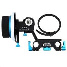 FOTGA DP500 2S Демпфирование фоллоу-фокус для DSLR камеры D7200 D810 5D II и III BMCC BMPCC