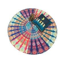 Caliente grande indio mandala tapestry wall hanging boho impreso playa tiro toalla yoga estera de tabla paño de cama decoración del hogar