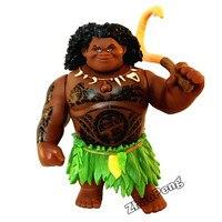 20 Cm Película Moana Waialiki Maui Heihei Muñecas Modelo juguetes Figuras de Acción de MOVIMIENTO articular Y MÚSICA regalo para niños Original caja