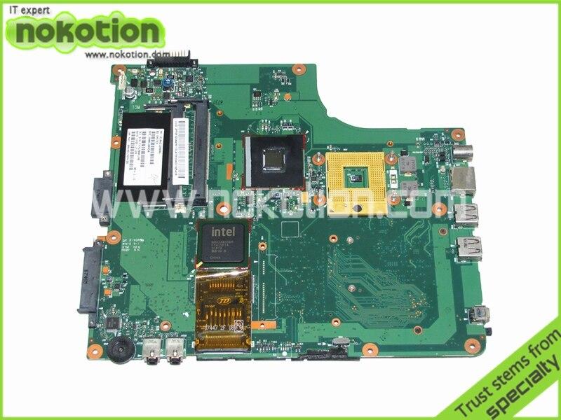NOKOTION V000108050 1310A2120806 For toshiba Satellite a205 Laptop motherboard GM945 DDR2