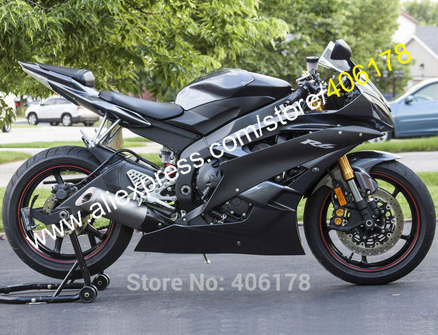 Hot Sales,Cheap All Black Body For YAMAHA YZF R6 2006 2007 YZFR6 06 ...