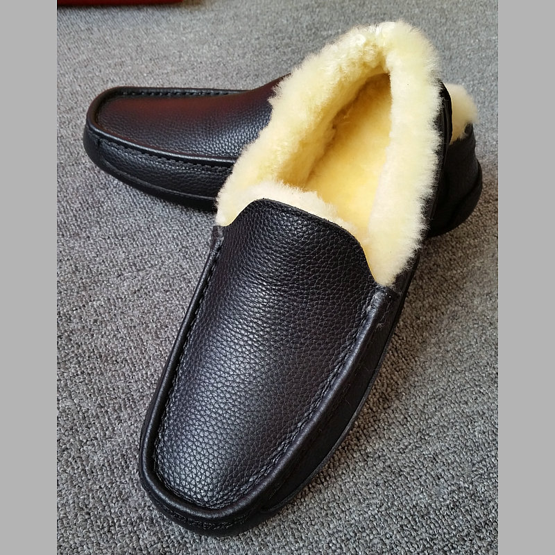 Winter Value special men's snow boots sheep fur Natural leather 5775 men's winter  shoes 5379 sailing shoes