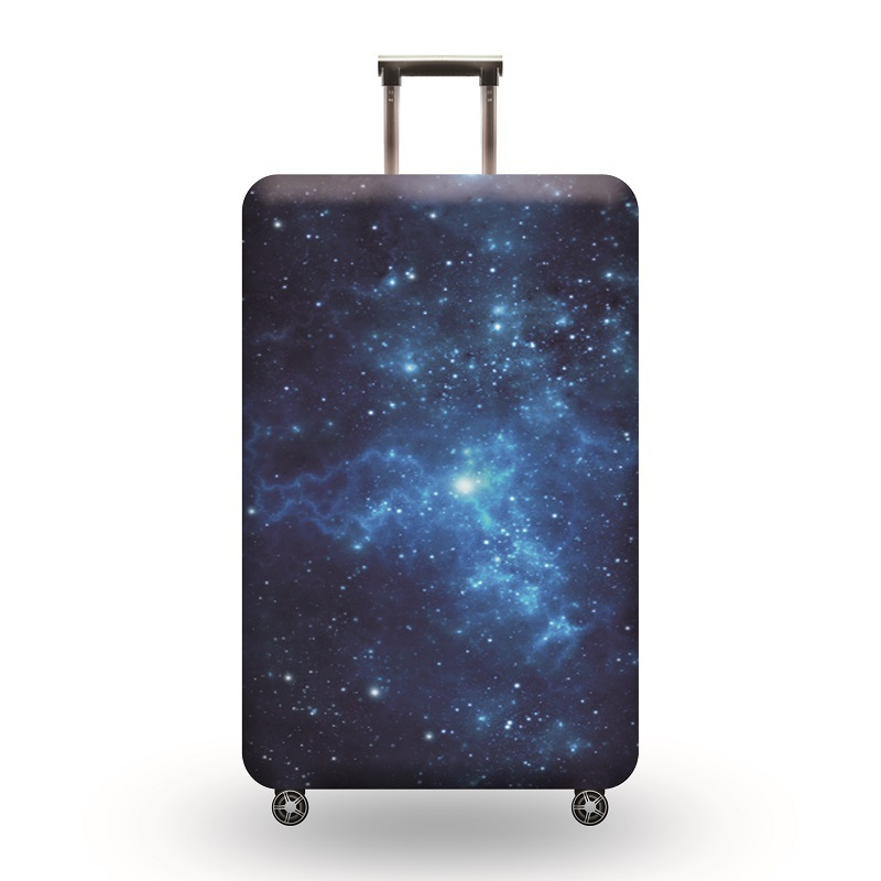 Luggage Cover Galaxy Cat Newborn Stars Shine Protective Travel Trunk Case Elastic Luggage Suitcase Protector Cover