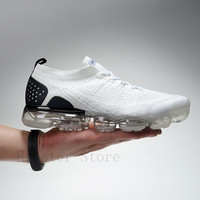 2019 New Air Vapormax 2 Max Running Shoes For Men Women Original Breathable Air Cushion Shoes Outdoor Athletic Sports Sneakers