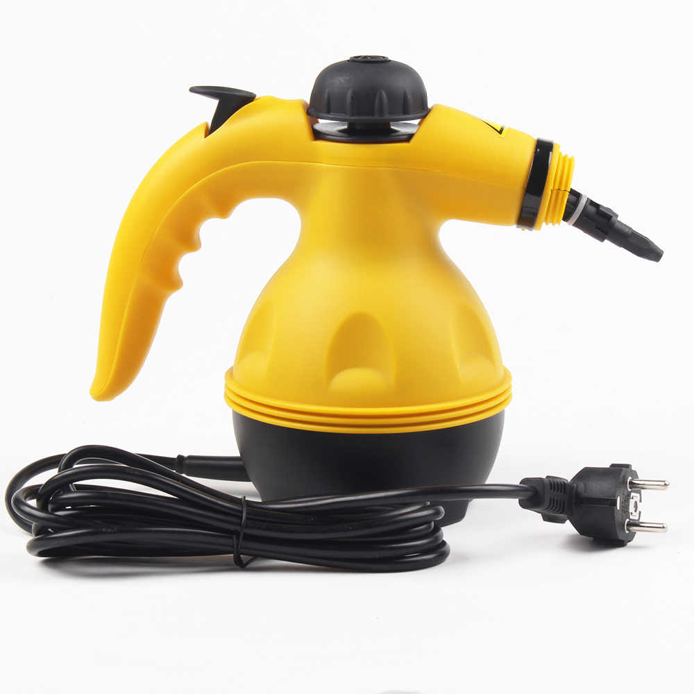 DMWD 6 Nozzles 450ml Multifunctional Electric Steam Cleaner 220V High Temperature Handheld Steamer Household Cleaning Brush 900W