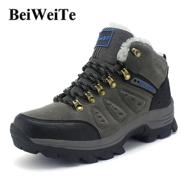 Grande Taille Chaussures De Randonnée De Doublure En Fourrure MNlcDLDm