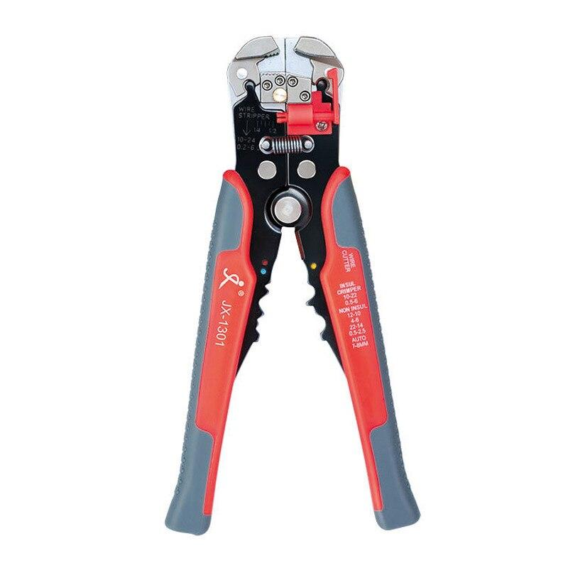 Werkzeuge Automatische Abisolieren Zangen Multifunktionale Elektrische Crimpen Zangen Schneid Zangen Dekrustation Zange 0,2-6,0mm Werkzeug HöChste Bequemlichkeit Handwerkzeuge