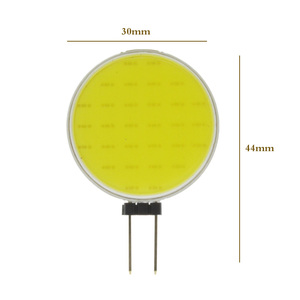 Image 2 - 7W DC12V LED G4 COB הנורה טהור לבן חם LED 30 שבבי להחליף הלוגן מנורת ספוט אור הנורה