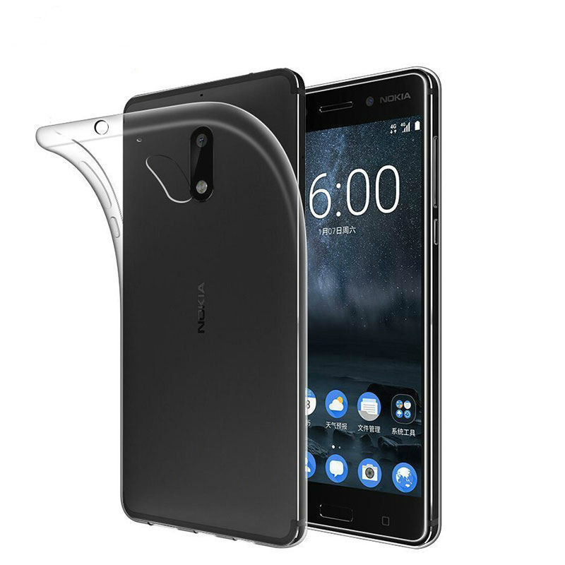 For <font><b>Nokia</b></font> 3.1 5.1 2.1 Case <font><b>Nokia</b></font> 3 5 6 2 1 Case <font><b>Silicone</b></font> Transparent TPU Phone Case For <font><b>Nokia</b></font> <font><b>6.1</b></font> 7 <font><b>Plus</b></font> 8 sirocco <font><b>Back</b></font> <font><b>Cover</b></font> image