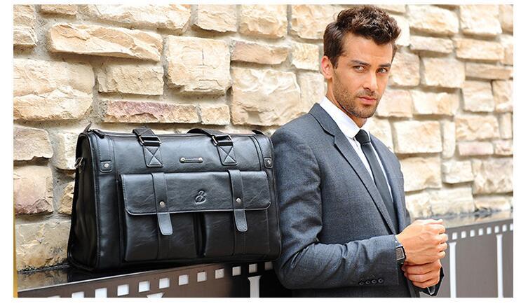 HTB1O4kqLSzqK1RjSZPcq6zTepXaa New Luxury Cow Genuine Leather Business Men's Briefcase Male Shoulder Bag Real Leather Men Messenger Bag Travel Computer Bag