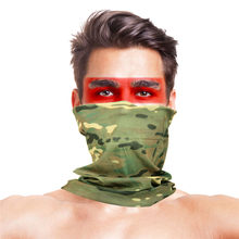 Camouflage Stage Dance Wear Accessoires Sjaals Vrouwen Mannen Polyester Anti Wind Dust Uv Bandana Halswarmer Sac Femme Bandouli Re(China)