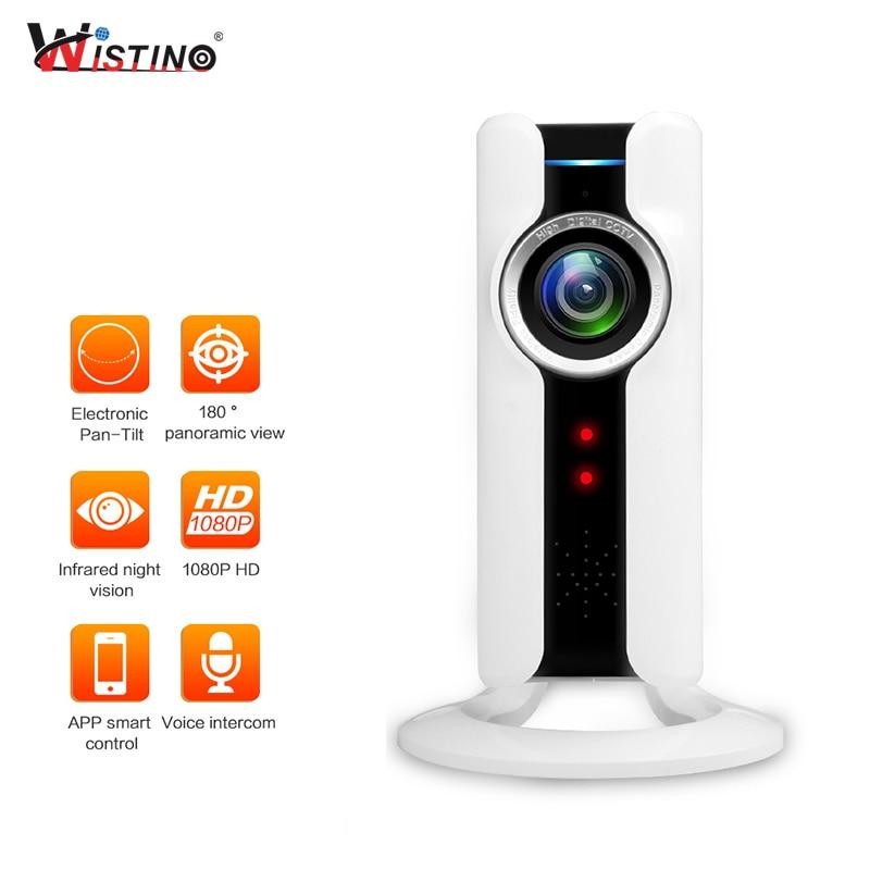 Wistino 2MP WIFI Baby Monitor Wireless IP Camera Showmo Video Baby Monitor Surveillance Home Security Mini Camera Night Vision