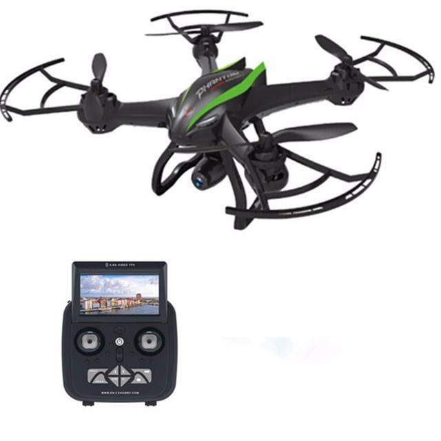 Cheerson CX-35 2.4 GHz 4CH 6 Ejes UAV Helicóptero Con cámara de 2MP 5.8G FPV Video hold altura RC aviones con 2G tarjeta SD y lector