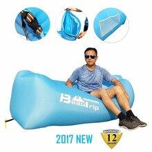BEAUTRIP Thương Hiệu Inflatable Lounger Võng Không Khí Sofa Bãi Biển Nệm Hơi Lười Biếng Ngủ Phòng Chờ Đặt Túi Giường Túi Khí cho Ngoài Trời Trại Cắm Trại
