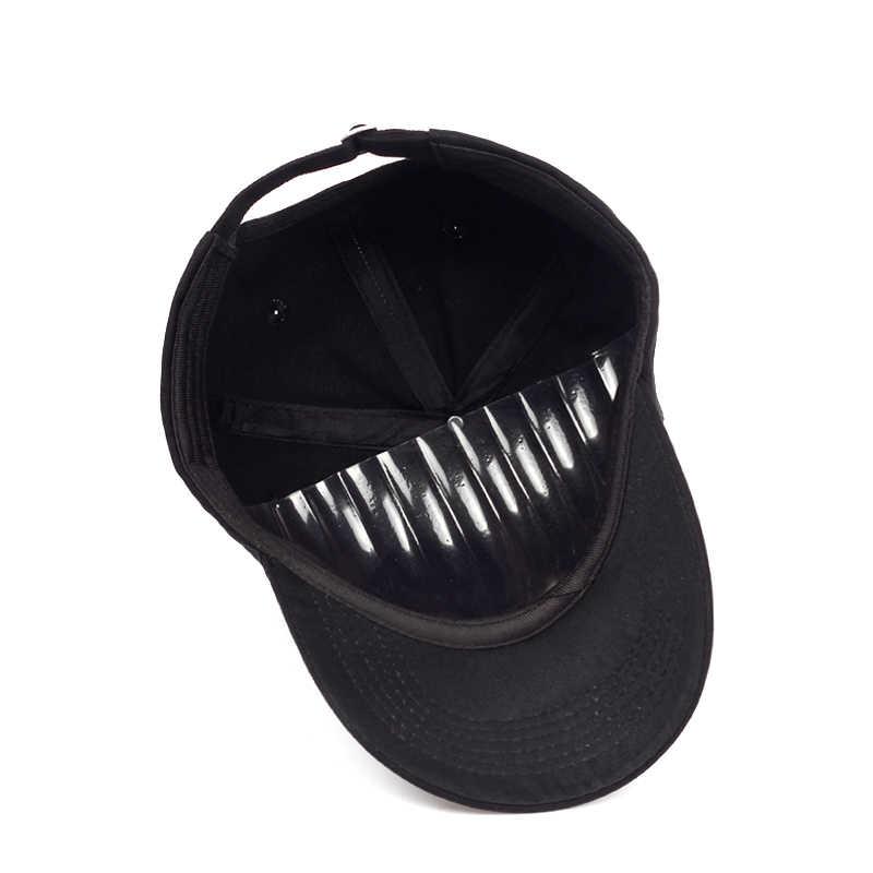 """2018 חדש בארה""""ב דגל דק כחול קו אבא כובע גברים נשים אופנה היפ הופ מתכוונן snapback שחור כובעי בייסבול רקום כובע"""