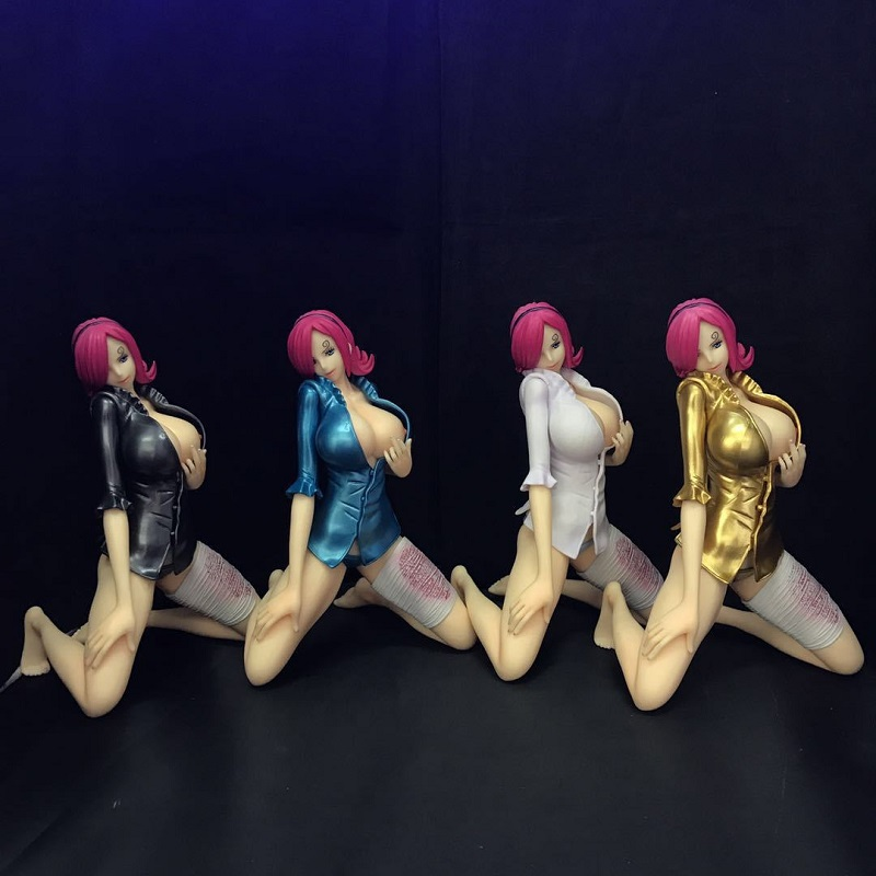 17cm One Piece <font><b>Sexy</b></font> <font><b>Girl</b></font> Vinsmoke Reiju Pvc Display Toys Japanese Hot <font><b>Girl</b></font> Vinsmoke With Swimsuit Collection Doll Toy Xmas Gift image