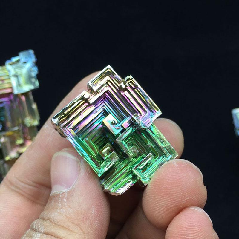 80g Bismuth Crystals Specimen Bismuth Metal Bismuto Jewelry Child Children's Girlfriend Birthday Gift Laboratory Bi -80g 80g bismuth crystals specimen bismuth metal bismuto jewelry child children s girlfriend birthday gift laboratory bi 80g