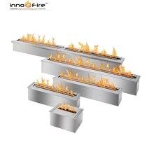 Inno Живой огонь 24 дюймов этаноловая каминная горелка вставка для внутреннего/наружного украшения