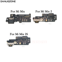 USB Charging Port Dock Plug Jack Connector Charge Board Flex Cable With Microphone For Xiaomi Mi Mix 2 2S