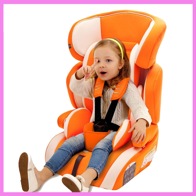 Factory Direct Sales Multifunctional Baby Child Car Safety Seat Kids Adjustable Removable Five Point Harness Chair Seat 9 M~12 Y
