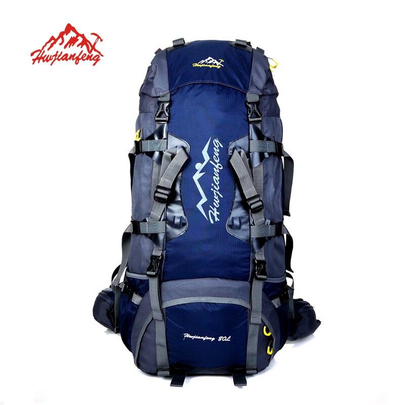 HUWAIJIANFENG mochila impermeable Al Aire Libre mochilas mochila de excursión qu