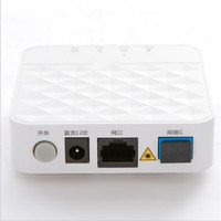 10PCS Used An5506 01 A Gpon Terminal Ftth Onu Ont Internet Port English Fiber Optical Terminal Without box/power Free shipping