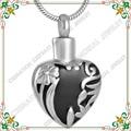 CMJ8678 Abrible cenizas de cremación joyería collar conmemorativo abrazarte amor del corazón colgante de acero inoxidable