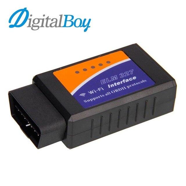Digitalboy Wi-Fi ELM327 OBD II CAN BUS Беспроводной Автомобиля Диагностический Сканер Адаптер инструмент ELM 327 OBD 2 для Android IOS iPhone