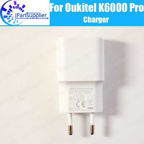 Oukitel K6000 Pro Charger 100 Original New Official Quick Charging Adapter Mobile Phone Accessories For Oukitel