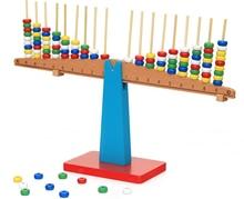 Bébé Jouet Montessori Enseignement Sida Bois Échelles Équilibre Faisceau Éducatifs L'éducation Préscolaire Enfants Jouets Brinquedos Juguetes