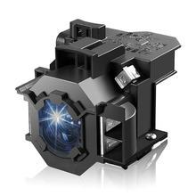 Projektör lamba ampulü Epson EMP 400W 410W EMP 83H PowerLite 822 EMP 400e EX90/EMP 400/EMP 280/H330B EMP 822 ELPL42 ampul