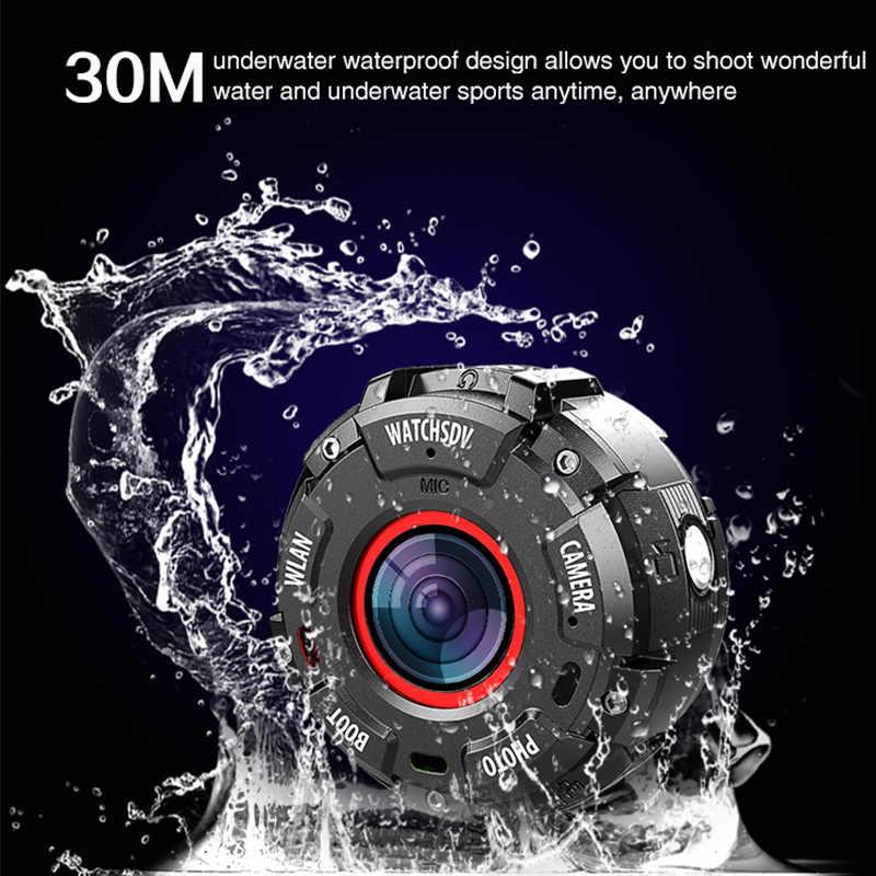Vbestlife G600 1080 P с возможностью погружения на глубину до 30 м Водонепроницаемый HD, Wi-Fi, Камера съемный ремешок комплект видеокамеры