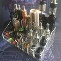 E-XY Vape Caixa Mod Ego Garrafa Tanque RTA Vapor RDA Atomizador Bateria Loja Prateleira Dispay Acessórios titular Base de cigarros Eletrônicos