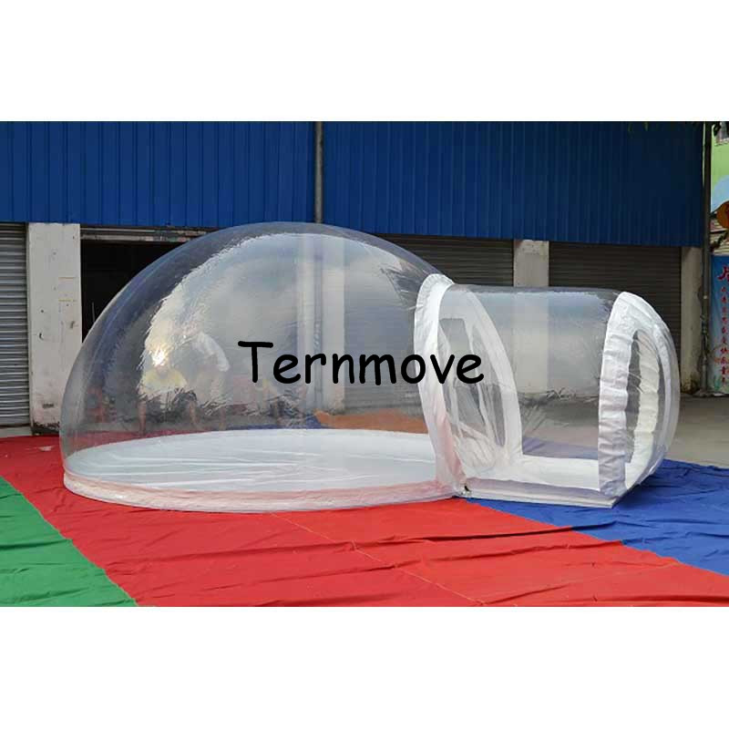 Outdoor Camping Bubble Tent,Inflatable Clear Dome Tent,Hiking Picnic Transparent Tent For Sale,inflatable tent with rooms clear bubble tent cheap inflatable hiking lawn tent inflatable party tent outdoor family dining inflatable bubble camping tent