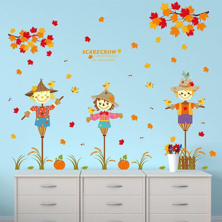 Online get cheap scarecrow decoration - Objet decoration murale design ...