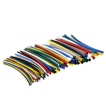 140 Pcs Car Tube Heat Tubing Tubing For Electrical Cable Wrap Polyolefin Sleeve H02
