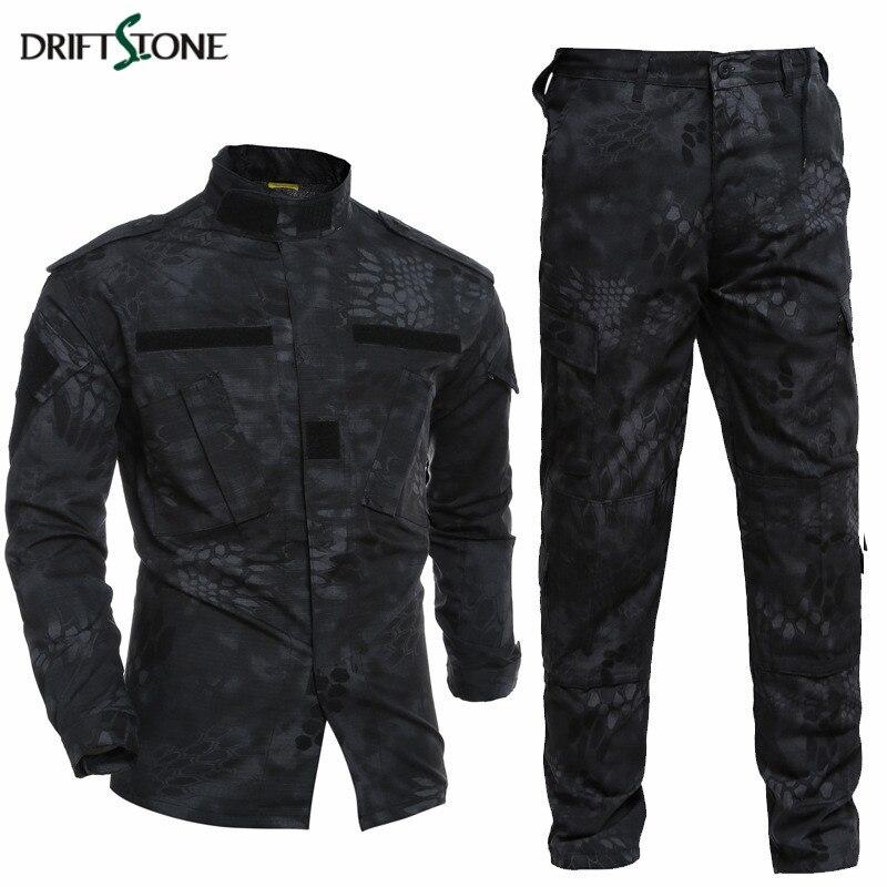 Kryptek Typhon uniforme tactique Camo Combat uniforme BDC champ uniforme Camouflage ensemble veste pantalon hommes armée uniforme