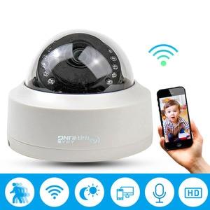 Image 2 - CamHi CCTV Wifi Wireless IP Camera Dome  1080P SONY323 960P 720P P2P Onvif Audio IR Cut Filter Motion Detection Alarm For IP Cam