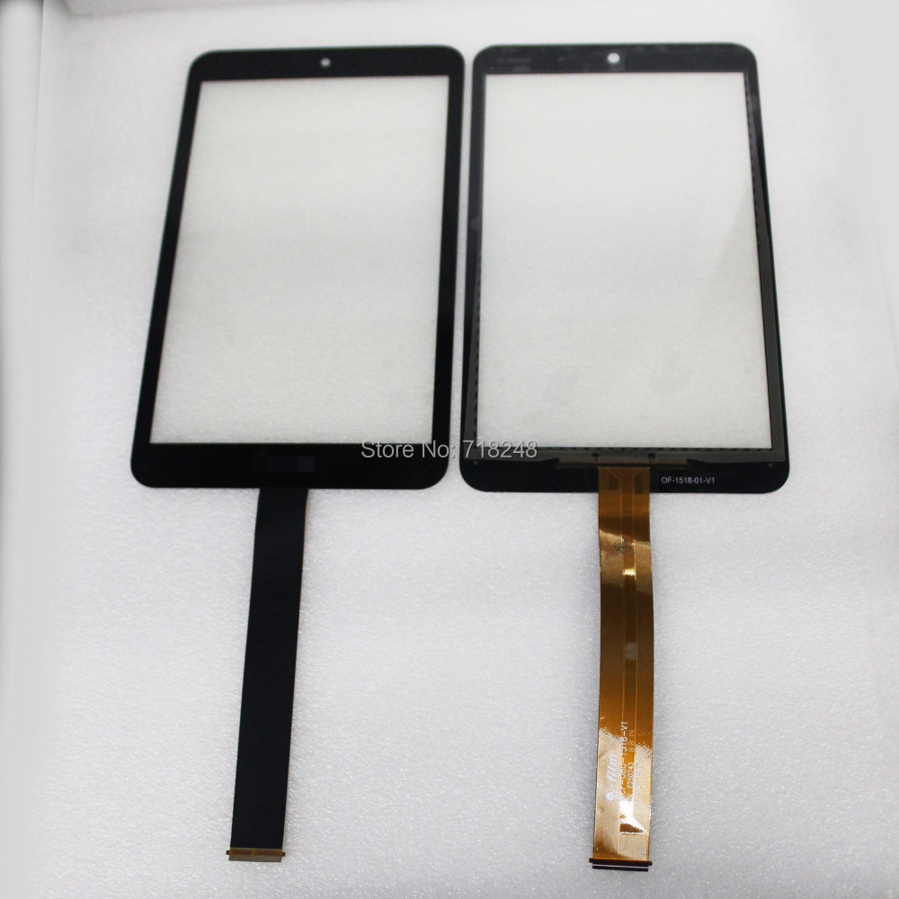 Black 8.0'' For Asus Memo Pad 8 ME181 ME181C Touch Screen Digitizer Glass Repairing Part free shipping tablet original for asus memo pad 8 me181c me181 k011 076c3 0807b black touch screen panel glass digitizer