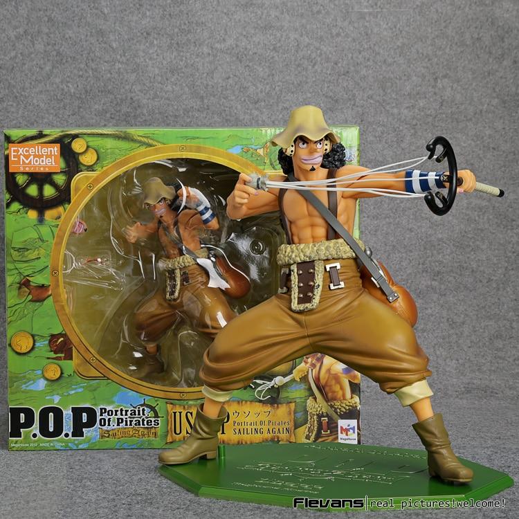 ФОТО Anime One Piece POP Usopp PVC Action Figure Collectible Model Toy 20cm OPFG028